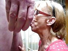 My TOP  10 Granny Cumshot scenes