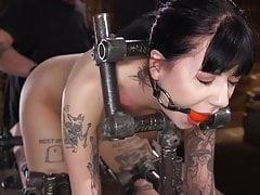 Charlotte Sartre Submits to BDSM