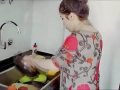 Robber Fucked Chubby Housewife!