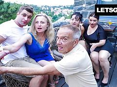 Biggest Fucking Bisex Orgy Part 1