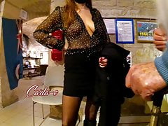 CARLA-C, EXHIBITION AT THE MUSEUM, PART 1 (on hidden camera)